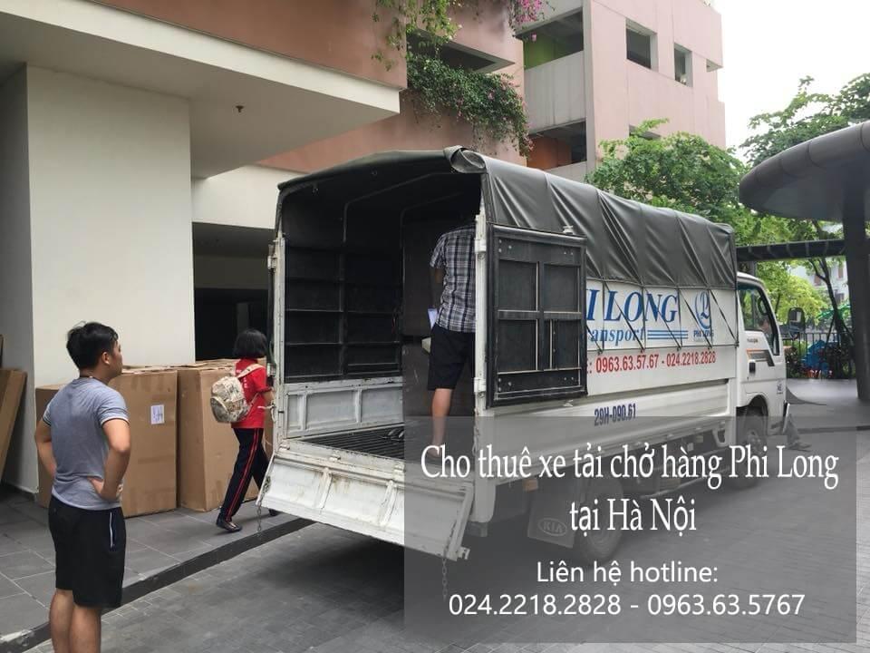 Dịch vụ taxi tải giá rẻ tại phố Cầu Đất