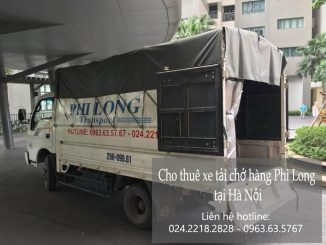 Dịch vụ taxi tải giá rẻ tại phố Hàng Thùng