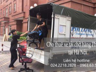 Dịch vụ taxi tải giá rẻ tại phố Tô Ngọc Vân