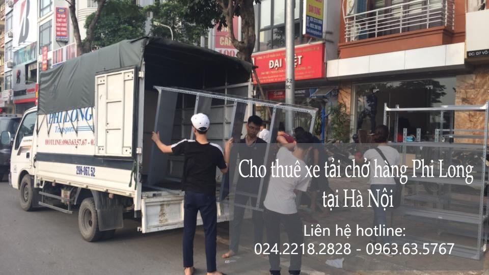 Dịch vụ taxi tải giá rẻ tại phố Cự Lộc