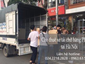Dịch vụ cho thuê taxi tải giá rẻ tại phố Yên Bình