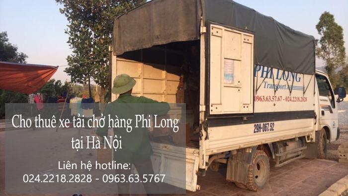 Dịch vụ taxi tải giá rẻ tại phố Hàng Chiếu