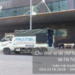 Taxi tải giá rẻ tại phố An Xá
