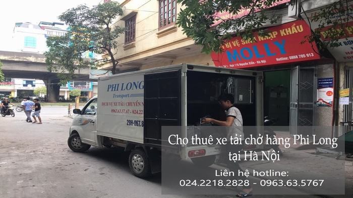 Dịch vụ taxi tải giá rẻ tại phố Duy Tân
