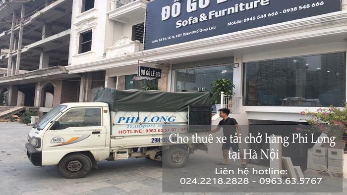 Dịch vụ taxi tải Phi Long tại phố Hoàng Văn Thái