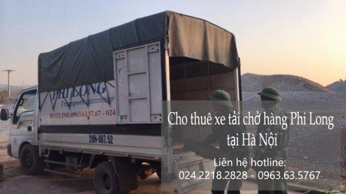 Dịch vụ taxi tải giá rẻ tại phố Giang Biên