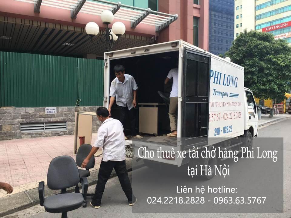 Dịch vụ taxi tải giá rẻ tại phố Gia Ngư