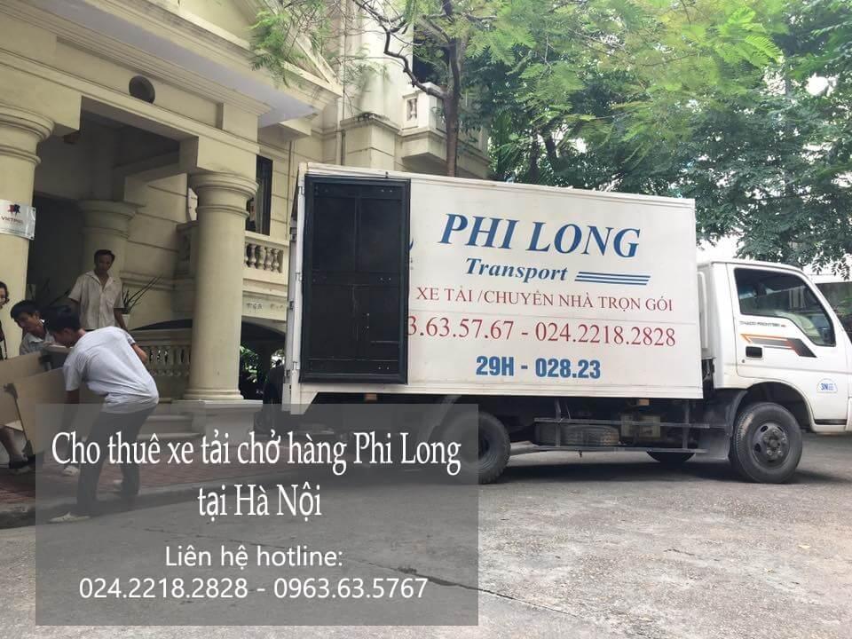 Dịch vụ taxi tải giá rẻ Phi Long tại phố Hàng Đậu