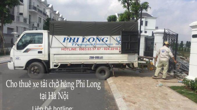 Dịch vụ cho thuê taxi tải giá rẻ tại phố Hào Nam