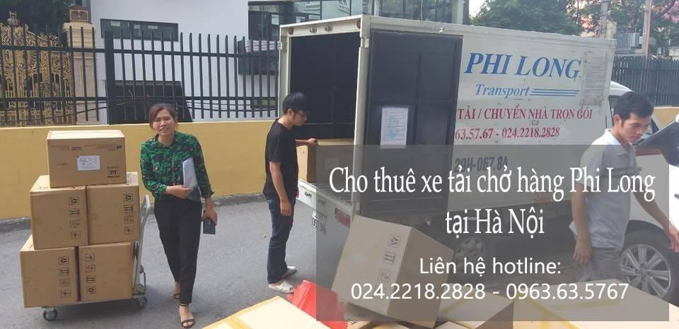 Dịch vụ taxi tải giá rẻ tại phố Nguyễn Khoái