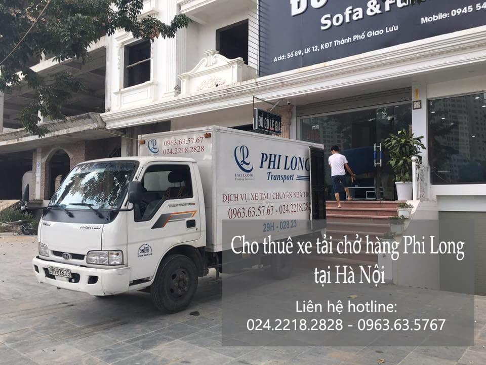 Dịch vụ taxi tải giá rẻ tại phố Láng Hạ