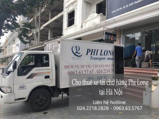 Dịch vụ taxi tải giá rẻ tại phố Lê Hồng Phong