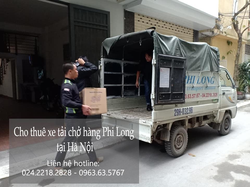 Dịch vụ taxi tải giá rẻ tại đường Hoàng Tăng Bí