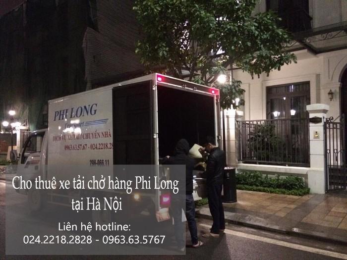 Taxi tải giá rẻ tại phố Nguyễn Mậu Tài