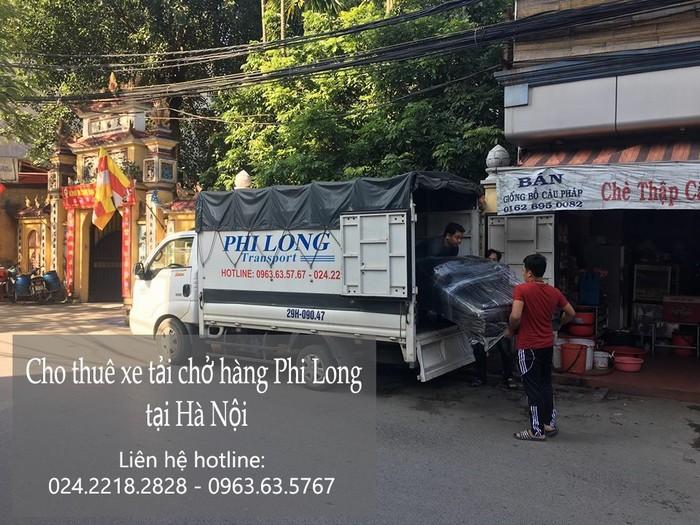 Dịch vụ taxi tải giá rẻ tại phố Mai Hắc Đế