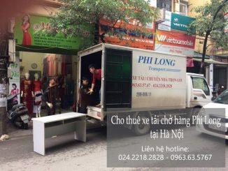 Dịch vụ taxi tải giá rẻ tại phố Nguyễn Như Đổ 2019