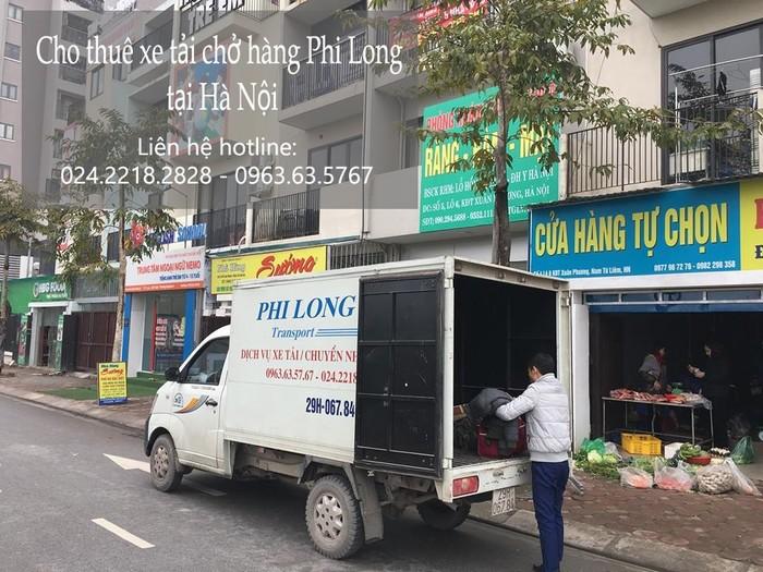 Taxi tải giá rẻ tại phố Dương Quang