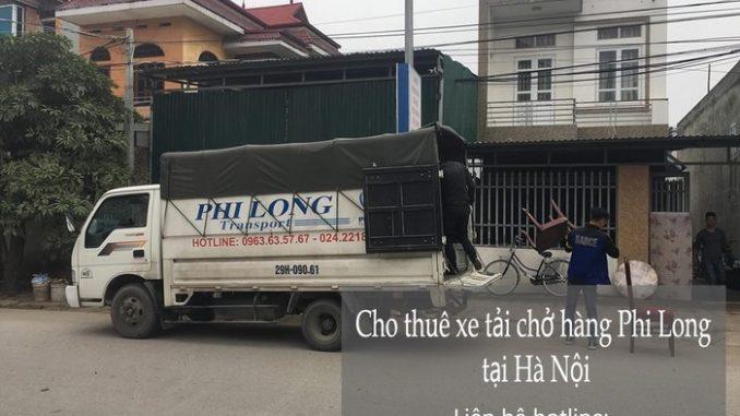 Dịch vụ taxi tải giá rẻ tại phố Quỳnh Lôi