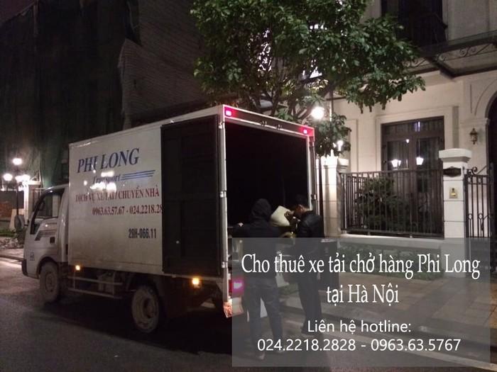 Taxi tải Phi Long tại phố Hoàng Thế Thiện