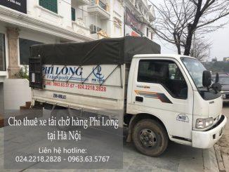 Dịch vụ taxi tải tại phố Lê Văn Lương