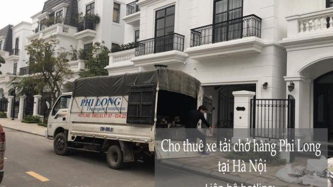 Dịch vụ taxi tải tại phố Hoàng Sâm