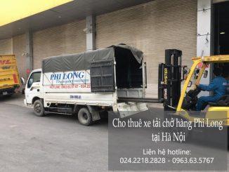 Taxi tải giá rẻ tại phố Cầu Đất