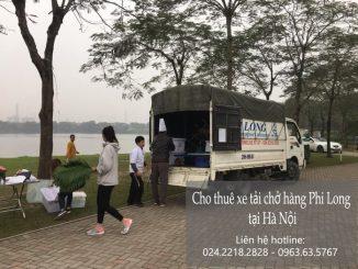 Dịch vụ taxi taxi tải giá rẻ tại phố Vọng Hà