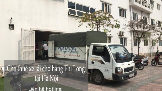Taxi tải giá rẻ tại phố Nguyên Khiết