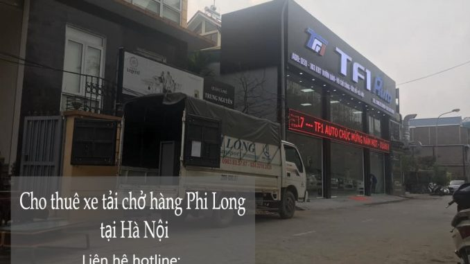 Dịch vụ taxi tải tại phố Lý Đạo Thành