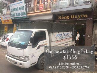 Dịch vụ taxi tải giá rẻ tại phố Hoàng Công Chất