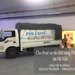 Dịch vụ taxi tải giá rẻ tại phố Nguyễn Quang Bích