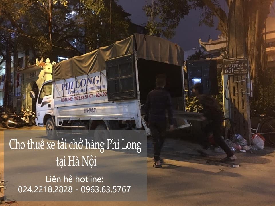 Taxi tải giá rẻ Phi Long tại phố Ỷ Lan