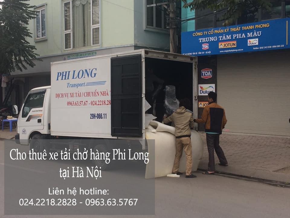 Dịch vụ taxi tải giá rẻ tại phố Ngô Thì Sĩ