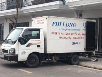 Dịch vụ taxi tải giá rẻ tại phố Nguyễn Xuân Nguyên