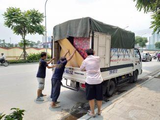 Taxi tải Phi Long tại phố Phan Văn Trị