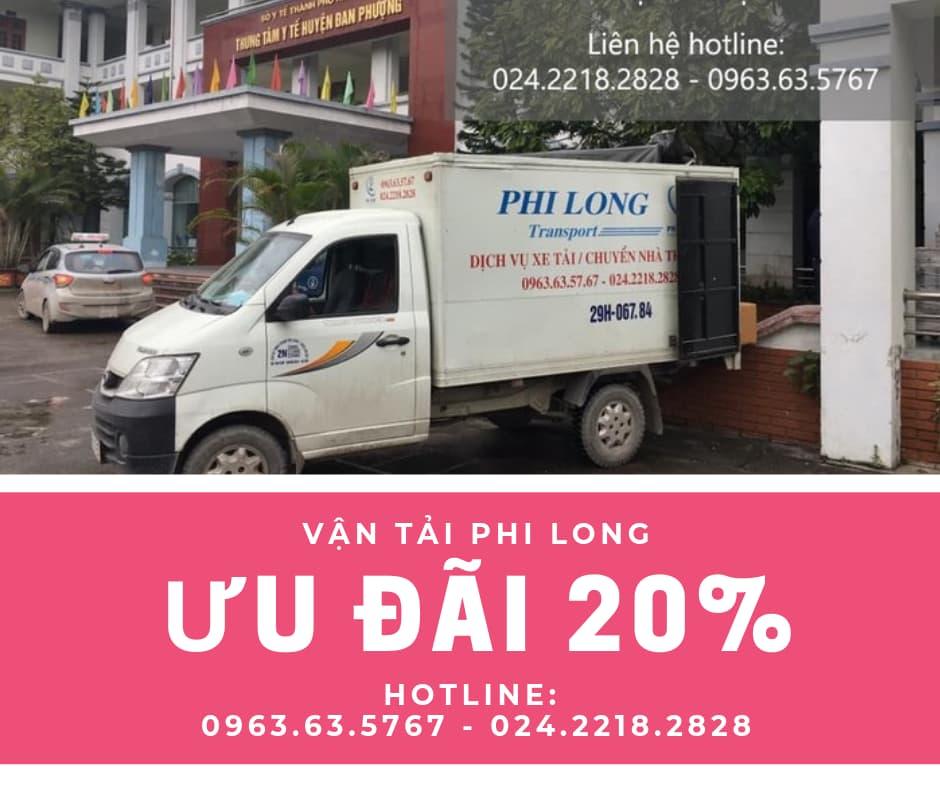 Dịch vụ taxi tải giá rẻ tại phố Trần Đăng Ninh