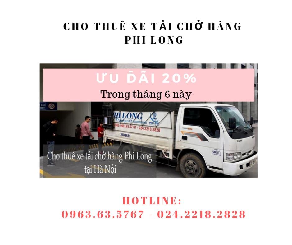 Dịch vụ taxi tải giá rẻ tại phố Cầu Am