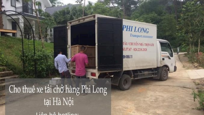 Dịch vụ taxi tải giá rẻ tại phố Tây Đăm