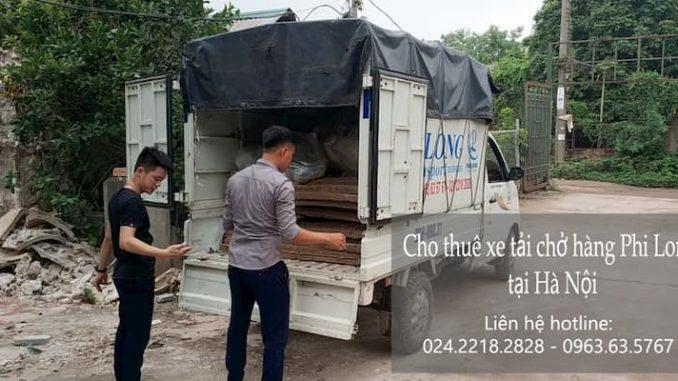 Dịch vụ taxi tải giá rẻ tại phố Chùa Quỳnh