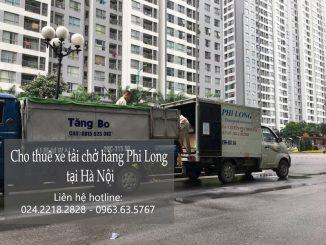 Dịch vụ taxi Phi Long taxi tải tại phố Bát Khốitải giá rẻ tại phố Miếu Đầm