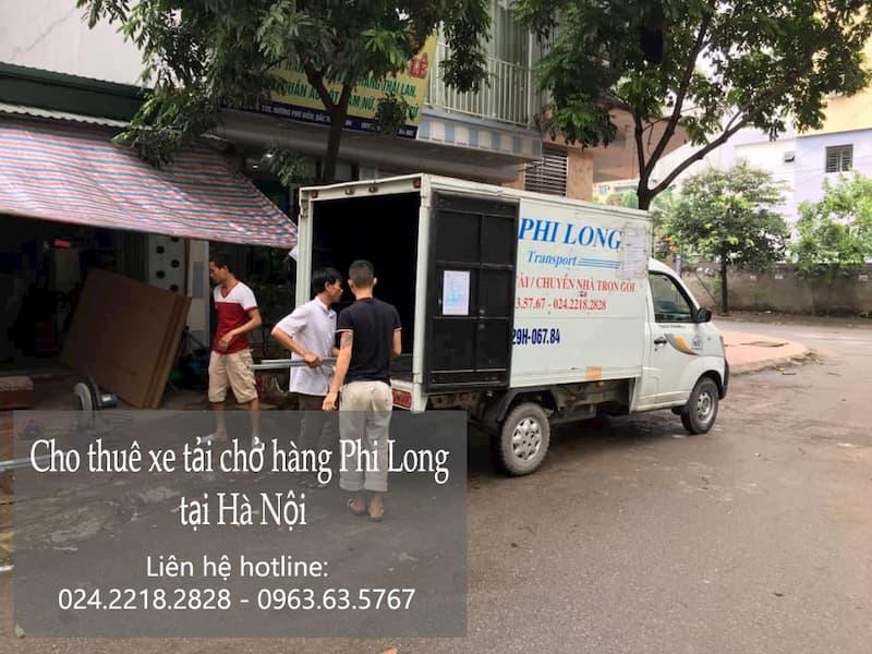 Dịch vụ taxi tải tại phố Tân Nhuệ