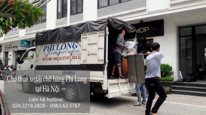 Phi Long taxi tải tại đường Mai Động