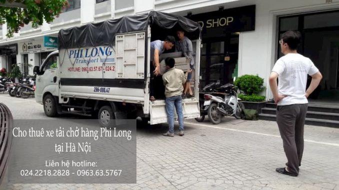 Dịch vụ taxi tải giá rẻ tại phố Viên