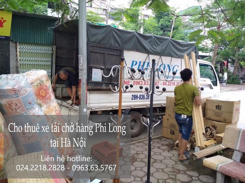 Dịch vụ taxi tải giá rẻ tại phố Trần Hữu Dực