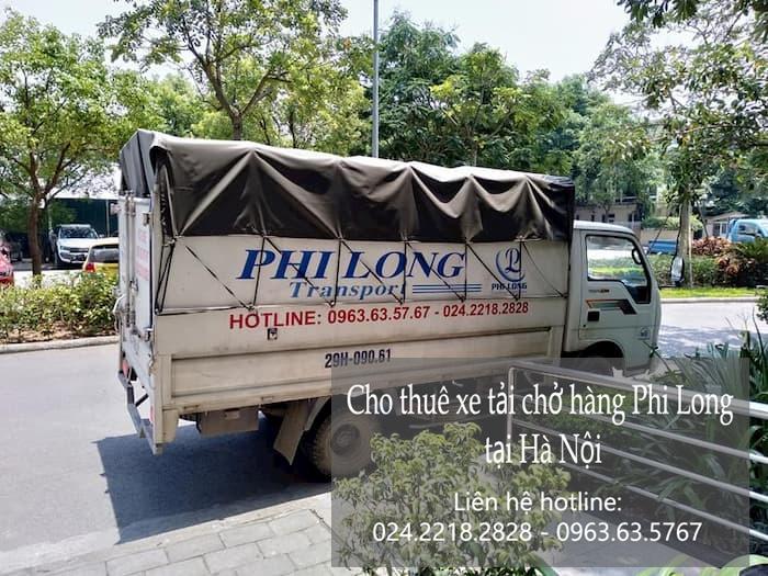 Dịch vụ taxi tải giá rẻ tại phố Phú Diễn 2019