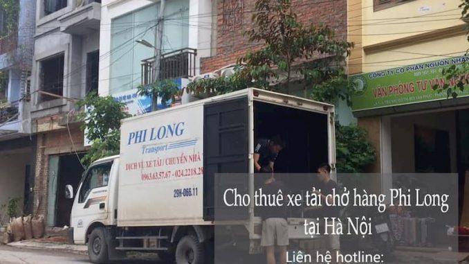 Taxi tải giá rẻ Phi Long tại phố Đào Văn Tập