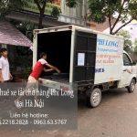 Taxi tải giá rẻ Phi Long tại phố Gia Thụy