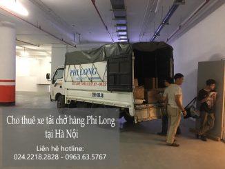 Taxi tải giá rẻ Phi Long tại phố Hội Xá