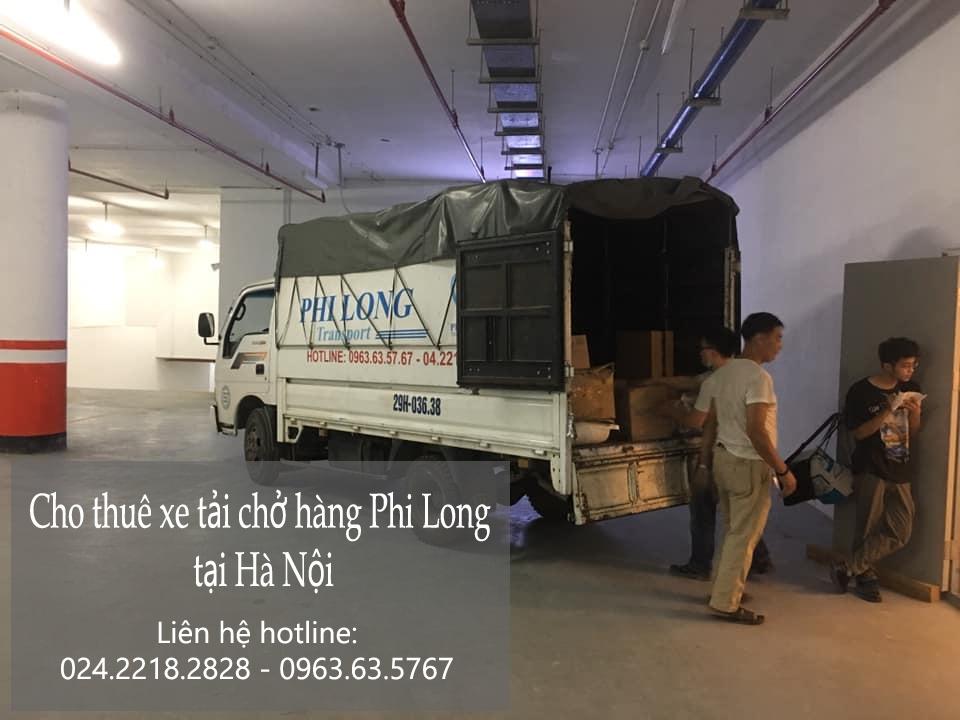 Dịch vụ taxi tải tại phố Phan Bá Vành