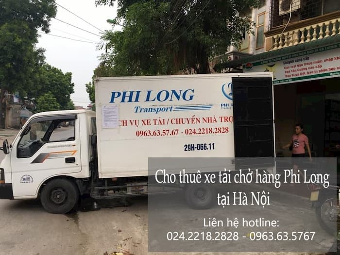 Dịch vụ taxi tải tại phố Nguyễn Cảnh Dị